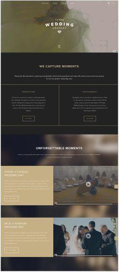 web design inspiration one page - Google zoeken
