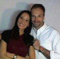 Jonny Lee Miller and Lucy Liu :)