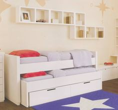 1000 images about dormitorio ni os on pinterest cute - Camas doble para ninos ...