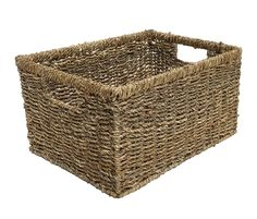 Seagrass Deep Storage Basket - Large (Stock due soon)