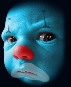 Rare Early Paper Mache Clown Head Jack-O-Lantern Candy Container . Joker Clown, Creepy Clown, Creepy Dolls, Halloween Circus, Scary Halloween, Fall Halloween, Velvet Painting, Lowrider Art, Send In The Clowns