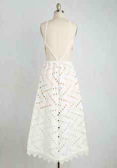 Be-All East End-All Dress in White | Mod Retro Vintage Dresses | ModCloth.com