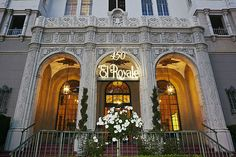 The iconic El Royale in Los Angeles, home to Hollywood's elite for decades, was sold for $29 million. The 12-story apartment building, among the tallest in Hollywood, and known for its green neon sign, has housed various celebrities including Clark Gable, William Faulkner, James Dean and Charlie Foy, & more recently, Nicolas Cage, Jack Black & Judd Apatow. Other celebrities such as Ben Stiller, Uma Thurman, Katie Holmes and Cameron Diaz have also rented at the El Royale. It was built in…