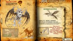 Snaptrapper Dragon | Image - BoneKnapper page.jpg - How to Train Your Dragon Wiki