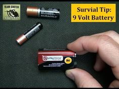 Sensible Prepper Presents: Survival Tip: 9 Volt Battery into AAA Use. Opening a common 9 volt battery may surprise you.