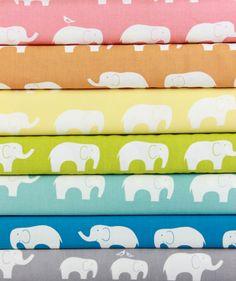 Jay-Cyn Designs for Birch Fabrics, Mod Basics, ORGANIC, Ellie Fam in FAT QUARTERS 7 Total