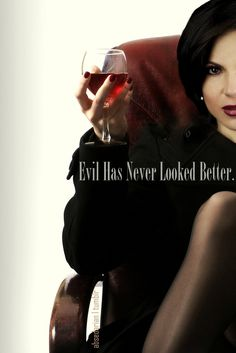 Evil Has Never Looked Better // Once Upon A Time // Lana Parrilla is so gorgeous