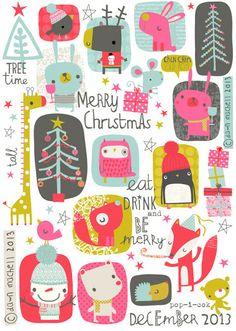 pop-i-cok   Merry Christmas   Dawn Machell