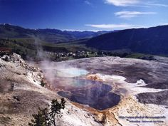 yellowstone | Yellowstone Yellowstone National Park, National Parks, Photos Voyages, All About Time, Health Care, Waterfall, River, Explore, Places