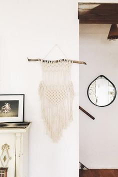 Like An Arrow Wall Hanging | MODERN MACRAME