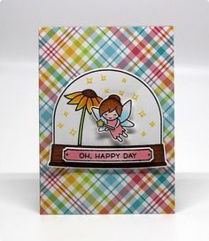 Lawn Fawn Intro: Fairy Friends and Stamp Shammy | the Lawn Fawn blog | Bloglovin'