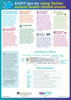 8 tips for using twitter around health related events #HCSM
