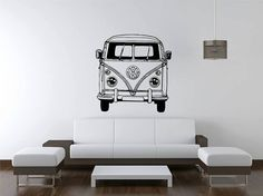 50cm Square Camper Van Canvas Wall Picture  New Camper Van Lovers Present Gift