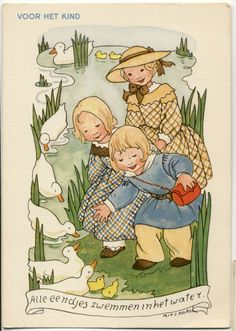 Rie Cramer voor het kind,Alle eendjes zwemmen in het water................        lb xxx.