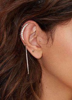 Total Eclipse Rhinestone Ear Cuff Set