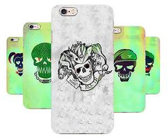 Suicide Squad Art Joker Harley Quinn Comics Phone Cover Case fits Apple Iphone