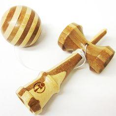 Kendama Bamboo, Japanese Catch and Toss Game, Wood Kendama | Japanese Style, Inc.