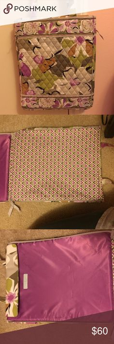 Vera bradley laptop tote NWT TAGS, check point friendly. This bag has two zippers thag open up the tote. No blemishes and has just been in storage Portobello Road Vera Bradley Bags Laptop Bags