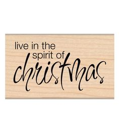My Sentiments Exactly Mounted Stamp-Spirit Of Christmas