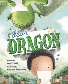 Dear Dragon: A Pen Pal Tale by Josh Funk (E FUN): As a school project, George and Blaise become pen pals, writing rhyming letters about their favorite things to do, unaware that one is human and the other a dragon. Book Club Books, Good Books, The Book, Big Books, Amazing Books, Book Lists, Hut Party, First Grade Books, Friendship Stories