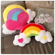 Resultado de imagen para molde almohadon arco iris