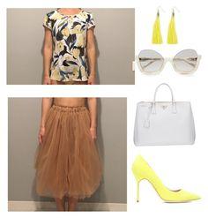 Без названия #7 by iana-salkova on Polyvore featuring polyvore, fashion, style, Manolo Blahnik, Prada, Moon and Lola and clothing