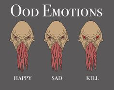 Ood Emotions by CVDart1990 on DeviantArt