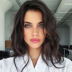 "Such beauty  ""Sara Sampaio via @chiquehappens"""