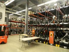 Harley-Davidson Museum: Archival Motorcycle Storage