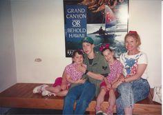 Tami, Alan, Tirina and Oma at the Natural History Museum