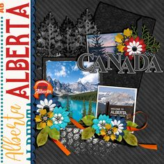Travelogue Alberta Canada by Connie Prince