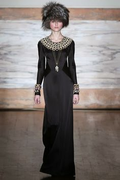 Fashion Flashback -Temperley London F/W2012 Tops It With a Russian Inspired Collection