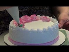 Buttercream Basics: How to Make A Buttercream Rose - YouTube