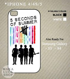 Five Second of Summer 5SOS Colorfull Logo for
