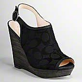 Coach wedges. Not a huge fan of Coach, but these are hot. Kimber would love them too ;)