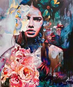 Fine Art Reproductions by Dimitra Milan Inspiration Art, Art Inspo, Oil Painting On Canvas, Painting & Drawing, Painting Abstract, Painting Tips, Painting Flowers, China Painting, Painting Videos