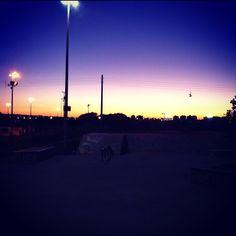 Skate Park / Fica no parque da cidade, Brasília-DF / Por @ranibunny