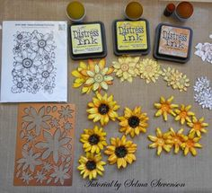 Selma's Stamping Corner and Floral Designs: Heartfelt Creations Classic Sunflower Collection