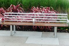 Blueton Limited - The new name in street furniture - Ref 096 Stainless Steel Seating #landscape architecture, #street furniture, #outdoor seating, #site furnishings
