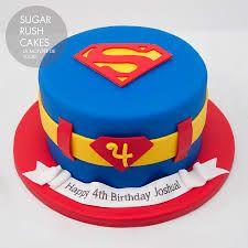Znalezione obrazy dla zapytania superman cake