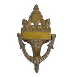 Antiques Impartial Antiques Door Knocker For Bedroom Brass 1920s