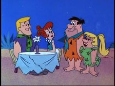 Flintstones Episodes | mar 11 1966 jealousy when fred feigns a headache to get out of violin ...