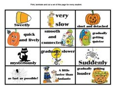 Signs and markings story with printable.