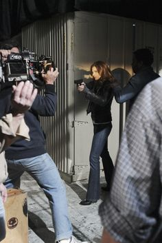 Nathan fillion and stana katic behind the scenes - photo#28