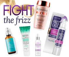 Nothing puts a crimp in your #style faster than #frizzy #hair !