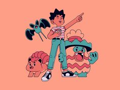 Brock Pokemon, Pokemon Comics, Pokemon Fan Art, My Pokemon, Pikachu, Pokemon Stuff, Character Art, Character Design, Pokemon Pocket
