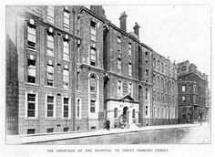 The Frontage of the Hospital to Great Ormond Street.