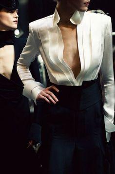 23 Looks with Fashion Blouses Glamsugar.com Donna Karan