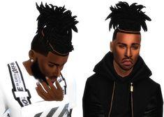 Wild Dreads/Braids Sims 4 Afro Hair Male, Hair The Sims 4, Sims 4 Black Hair, Sims Hair, Sims 4 Teen, Sims 4 Toddler, Toddler Hair, Sims Cc, Dread Braids