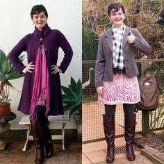 LEILA DINIZ *blog: Quem disse que não dá pra usar vestido no frio? Ve...